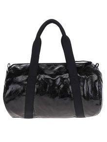 Čierna lesklá športová taška Pieces Joni
