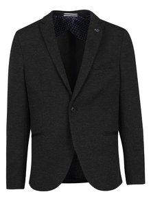 Tmavosivé sako s jemným vzorom Selected Homme Done-Brett