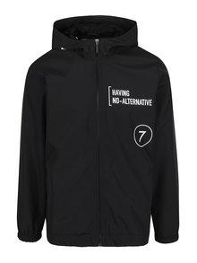 Jachetă neagră impermeabilă cu glugă  ONLY & SONS Laney