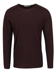 Vínové triko s dlouhým rukávem Jack & Jones Premium Jamie