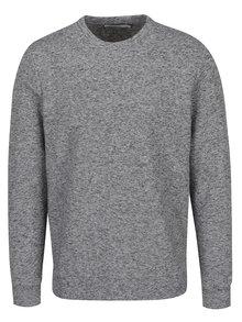 Bluză gri melanj Jack & Jones Premium Simon
