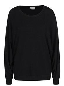 Čierny sveter s netopierími rukávmi VILA Lost