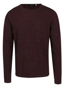 Pulover roșu burgundy  Jack & Jones Premium Mikey