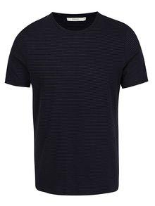 Modro-černé pruhované triko Jack & Jones Premium Addy
