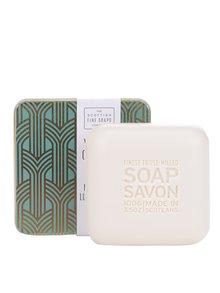 Dárkově balené mýdlo v plechové dóze Mint Julep The Scottish Fine Soaps Company