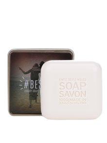 Luxusní dárkově balené mýdlo v plechové dóze Besties The Scottish Fine Soaps Company
