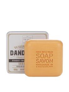Dárkově balené mýdlo v plechové dóze Whisky The Scottish Fine Soaps Company