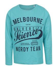 Bluză albastră pentru băieți Name it Victorian