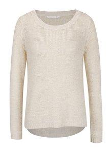 Krémový ľahký sveter ONLY Geena
