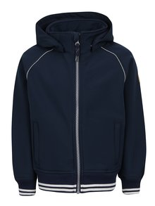 Modrá chlapčenská bunda s kapucňou name it Alfa