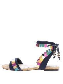 Tmavě modré sandály s barevnými detaily Miss KG Raphy