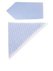 Set světle modré kravaty a kapesníku Burton Menswear London