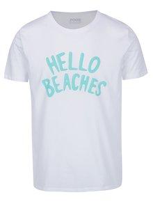 Bílé pánské triko ZOOT Originál Hello beaches