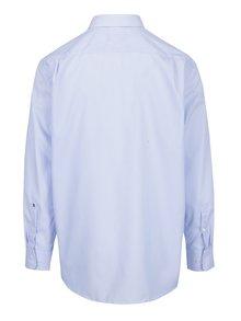 Světle modrá formální pruhovaná modern fit košile Seidensticker