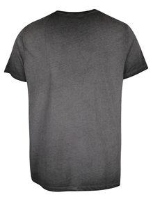 Šedé pánské tričko s potiskem Pepe Jeans West Sir