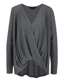 Bluză suprapusă gri melanj - VERO MODA Honie