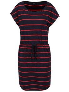 Červeno-modré pruhované šaty ONLY May