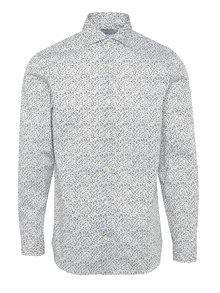 Černo-bílá vzorovaná košile Selected Homme Two Sel