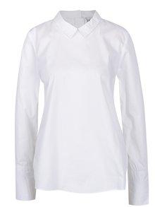 Biela košeľa s volánom na chrbte Noisy May Conansa