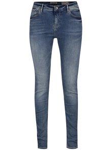 Světle modré dámské slim fit džíny s vysokým pasem Garcia Jeans Celia