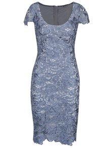 Modré krajkové šaty Miss Grey Taisa