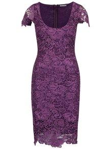 Fialové krajkové šaty Miss Grey Taisa
