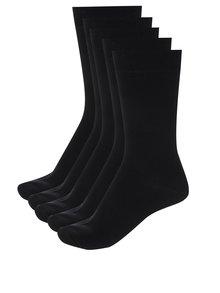 Set de 5 perechi de șosete negre pentru bărbați -  M&Co