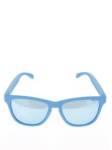 Světle modré unisex sluneční brýle Emoji Monkeys