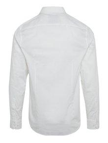 Biela pánska formálna košeľa s dlhým rukávom Garcia Jeans Dario