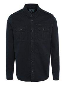 Tmavě modrá pánská košile s kapsami Garcia Jeans