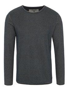 Bluză gri cu dungi Garcia Jeans pentru bărbați