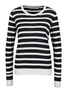 Bluză negru&alb în dungi pentru femei Garcia Jeans