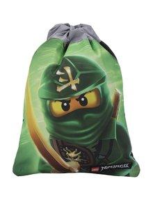 Čierno-zelený chlapčenský vak LEGO Wear Ninjago Lloyd