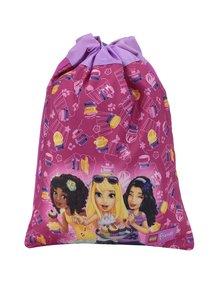Růžový holčičí vak LEGO Wear Friends Cupcake