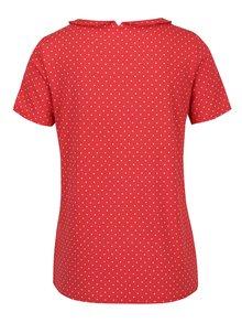 Bluză roșie cu buline Blutsgeschwister