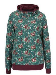 Bluză verde cu print floral  Blutsgeschwister