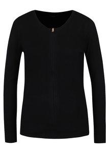 Čierny dámsky cardigan na zips M&Co