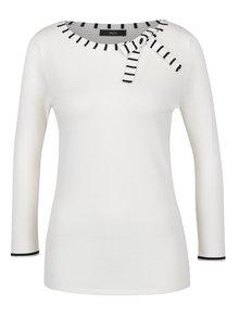 Krémový dámský svetr s mašlí M&Co