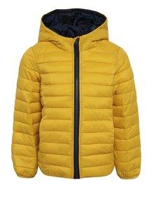 Žltá detská prešívaná bunda Tom Joule