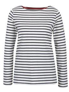 Béžové pruhované dámske tričko Tom Joule