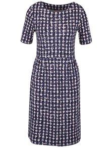 Tmavomodré dámske vzorované šaty Tom Joule