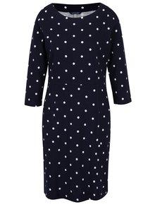 Modré dámske bodkované šaty Tom Joule