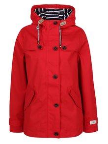 Jachetă impermeabilă roșie pentru femei Tom Joule