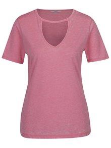 Ružové melírované tričko ONLY Chocker Truly