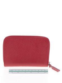 Červená kožená peňaženka ZOOT