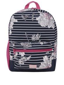 Růžovo-modrý vzorovaný holčičí batoh Tom Joule