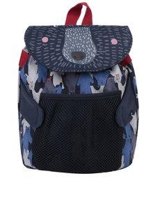 Modrý chlapčenský batoh v tvare medveďa Tom Joule