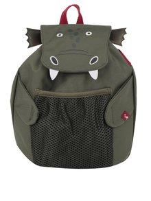 Zelený chlapčenský batoh v tvare draka Tom Joule