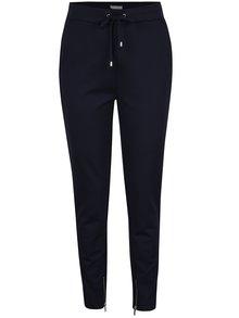 Tmavě modré volné kalhoty s kapsami VILA Riasta