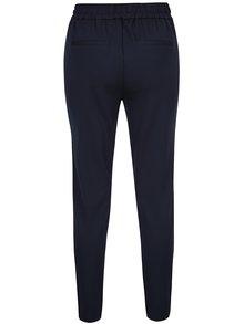 Pantaloni drepți albastru închis - VILA Riasta